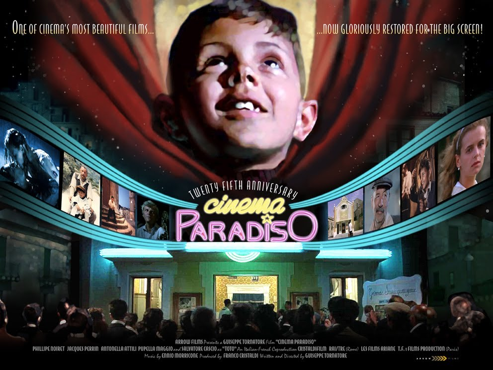 cinema paradiso is nothing more than Life is much harder — cinema paradiso (1988) dir giuseppe tornatore living here day by day, you think it's the center of the world you believe nothing will ever change then you leave: a year, two years.